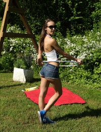 Hula and Hooping featuring Charity Crawford by Als Photographer
