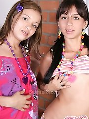 Check it out, Selina18 and Paulina18 together!