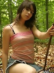 Teen lost in the woods!